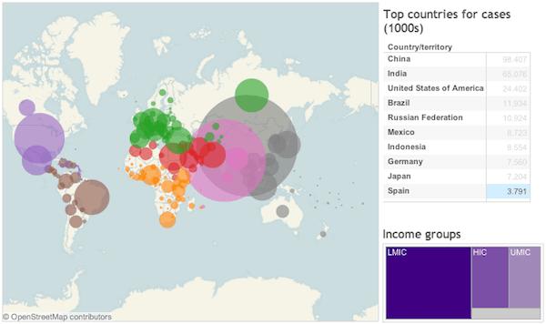 Mapa diabetes mundo